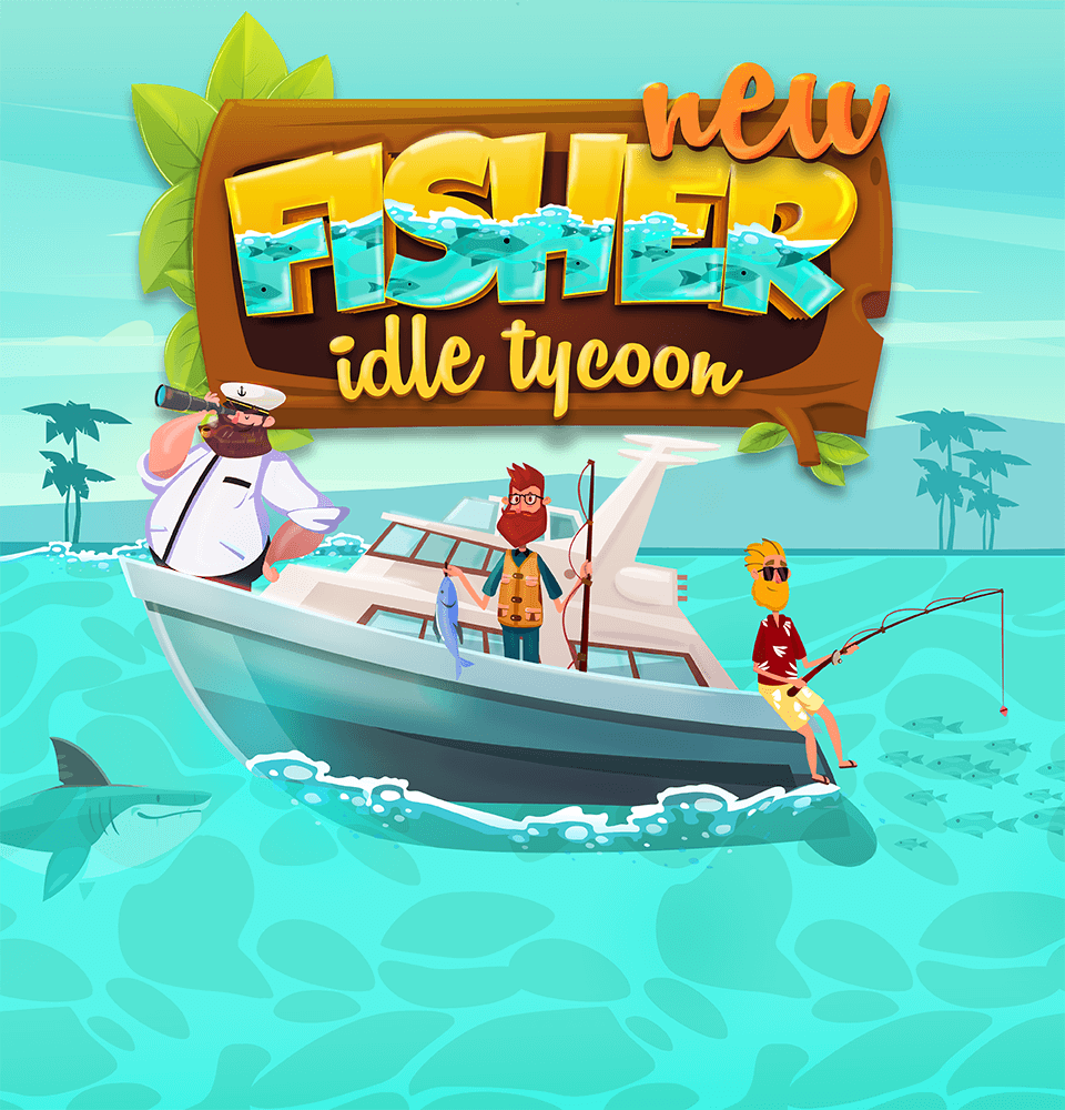Idle Fisher Tycoon image